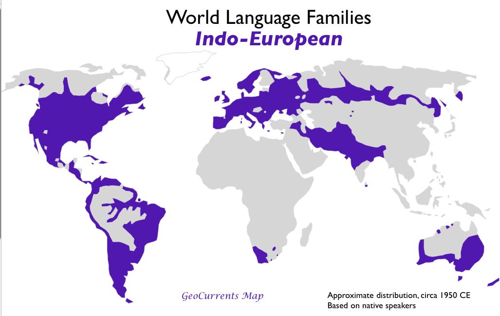 world language families indo-european family