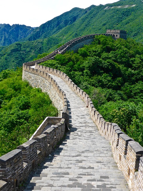 great wall of china scenery
