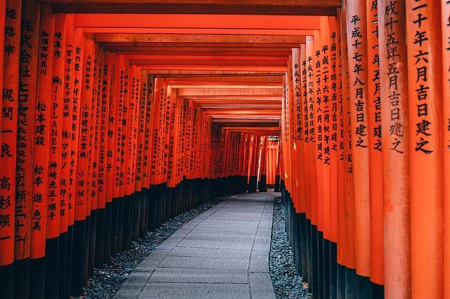 japan kyoto read japanese words